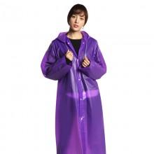 Дождевик женский. EVA (оригинал) - универсальный дорожный плащ от дождя - фиолетовый