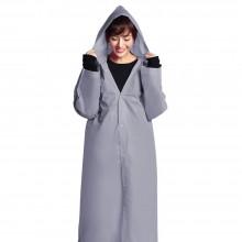 Дождевик женский. EVA (оригинал) - универсальный дорожный плащ от дождя - серый