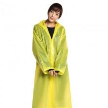 Дождевик женский. EVA (оригинал) - универсальный дорожный плащ от дождя - желтый