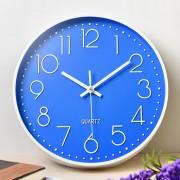 Часы настенные бесшумные Losso Premium - Синие