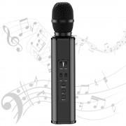 Караоке микрофон Losso K6 Premium черный (стерео-звук)