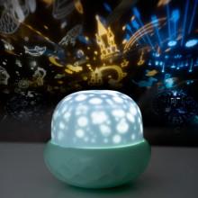 """Проектор звездного неба Losso - детский ночник """"Грибок"""" зеленый"""