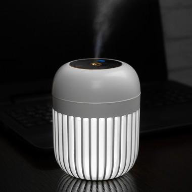 """Увлажнитель воздуха - ночник """"Дыхание света"""" LOSSO LJH-031 аккумуляторный, USB диффузор белый"""