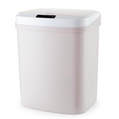Ведро для мусора сенсорное автоматическое LOSSO LS-15 бежевое, 15 л