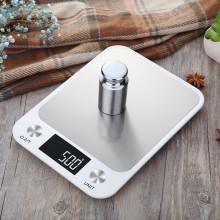 Весы кухонные электронные Losso Premium CX - 10 кг с подсветкой - белые